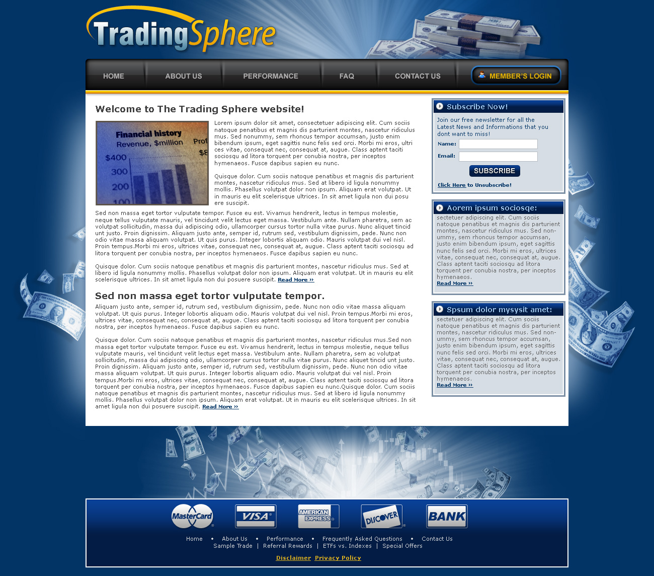 Forex website templates free download